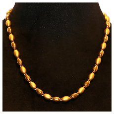 Napier NOS Satin & Polished Necklace
