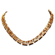 Coro Choker Necklace 13 to 17 inches