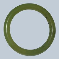60mm Jade Bangle Bracelet 44 grams