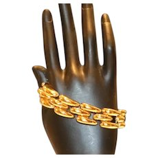 Bold Link Bracelet 7 1/2 inches