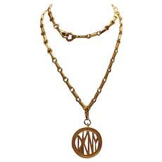 Donna Karan New York Pendant Necklace