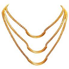 Hobe' Multi-Strand Choker Necklace
