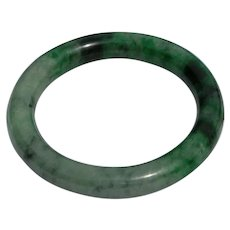 Lush colorful Jade Bangle Bracelet 67 grams