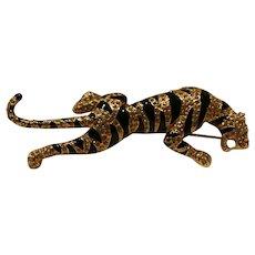 Carolee Limited Edition Tiger Brooch/ Pin 1997