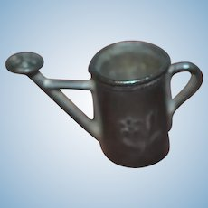 Miniature antique watering can for your doll's house