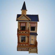 Wonderful antique Dollhouse By Moritz Gottschalk