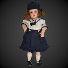 Bleuette Doll bisque head By Gautier-Languereau  marked Unis France 301 71 . 149  size 1 1/4.