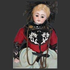 "11"" Antique German Doll cabinet size SIMON & HALBIG mold 1009"