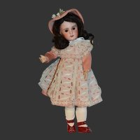 SFBJ PARIS size 4 with charming sweet Jumeau bébé face
