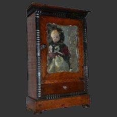 Charming antique French miniature armoire circa1870/1880