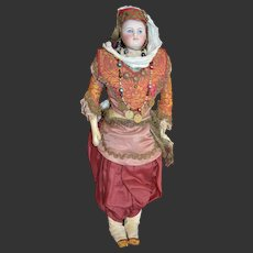 Outstanding fashion doll by  certainly FG with her all original luxury  turkish outfit