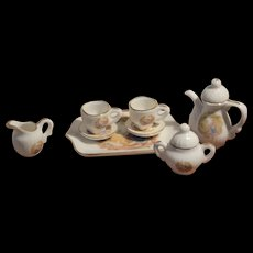 Vintage miniature  tea set for your doll