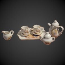 Vintage miniature  tea set for your doll