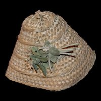 France circa 1910 straw hat for your doll