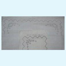 Original Bed linen set for benjamin la poupee modèle