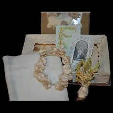 Fashion doll communion set in a lovely box