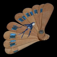 1880/1900 Lovely fan for your fashion doll