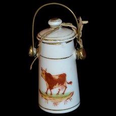 Antique  rare milk jug for your doll
