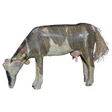 Early  German  Erzgebirge wood cow