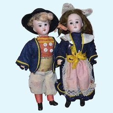 French 1900 brittany couple
