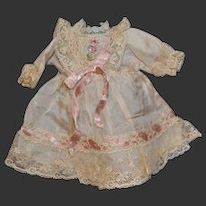 Vintage dress for your little doll