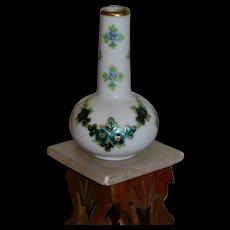 Limoges beautiful tiny vase 1900