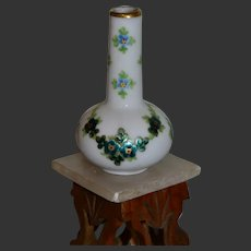 Limoges beautiful tiny vase 1900