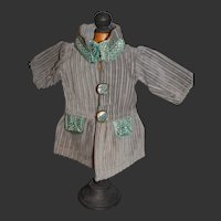 Original  G.L Bleuette coat 1928 rare model in outstanding condition