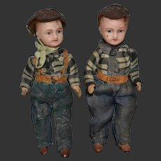 SFBJ twins boys mignonette for your doll's house