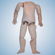 """13"""" Steiner doll body need restoration"""