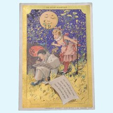 Old song: Le bon marche trade card 1900