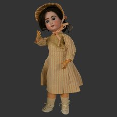 German Jumeau doll Wilhelm Delher type
