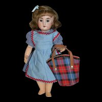 Rare Gautier languereau 1952/1953  hand bag for bleuette