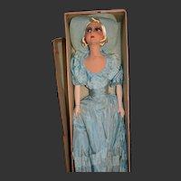 Rare sweet boudoir doll in original box