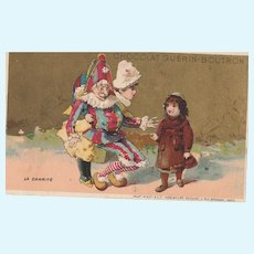 1880/1890 2 French trade cards