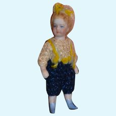 Lilliputian French all bisque doll