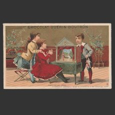 1880/1900 2 French trade cards