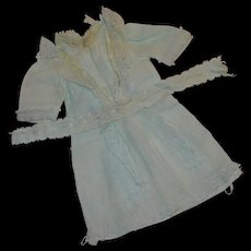 Adorable little muslin chemise for your french bébé