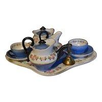 Wonderful Napoleon III tea set for doll