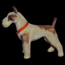 Nice vintage fox terrier dog for your dolls