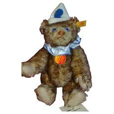 Charming teddy clown steiff perfect condition