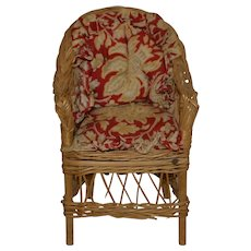 Nice little rattan armchair