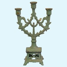 French miniature candelabra for your doll's houses