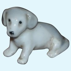 Antique china dog for your doll's house