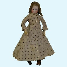"""14"""" Barrois type poupée with original dress and boots"""