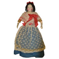 Pauline type doll in perfect condition 1860