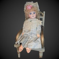 stunning cabinet size doll for the French market