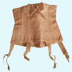 Fabulous French corset circa 1930 FOR SFBJ doll