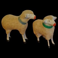 2 Charming little sheep FOR YOUR DOLL