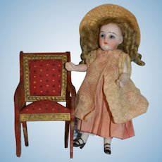 German all bisque doll for your doll' house